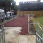 Multi Sport Synthetic Carpet in Abbey Green 1