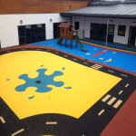 Multi Sport Synthetic Carpet in Abbey Green 4