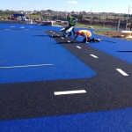 Playground Surfaces for NEAPs in Achiemore 11