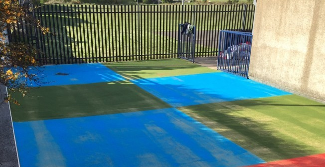 Multisport Synthetic Surfacing in South Yorkshire