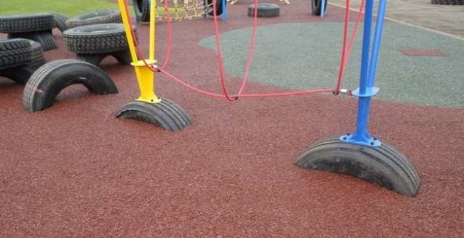Repairing Play Area Surfaces in Abbess End