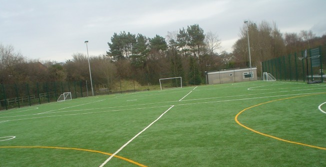 All Weather MultiSport Pitch in Abberton