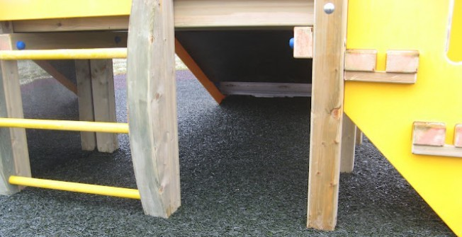 Playground Safety Flooring in An Leth Meadhanach