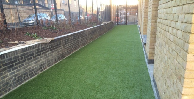 Fake Grass Carpet Installation in Abbey Wood