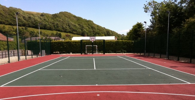 Multi-Purpose Sports Court in Llangorwen