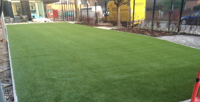 Artificial Turf for Playgrounds in Abbey Wood